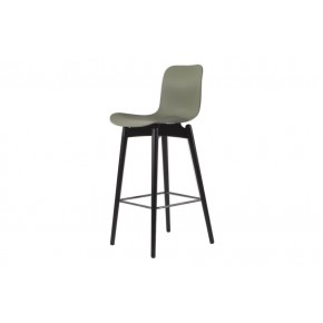 NORR11 - Langue Bar Chair Black Legs (5 different seats)