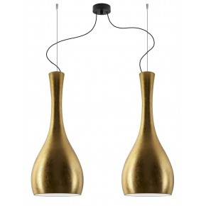 Sotto Luce - ITTEKI Elementary 2/S double pendant lamp Gold