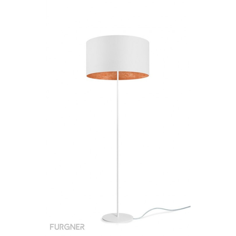 Sotto Luce Mika Elementary L 1 F Floor Lamp White Furgner