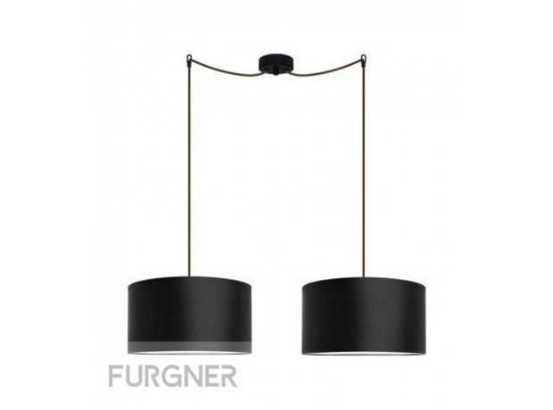 Sotto Luce - MIKA Elementary M 2/S Ceiling lamp black