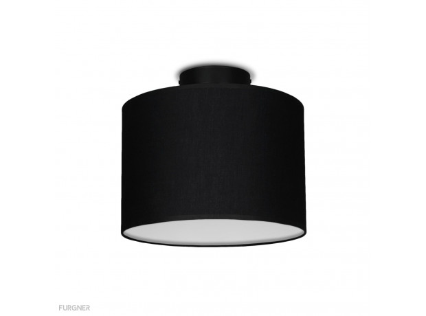 Sotto Luce - MIKA Elementary S CP 1/C Ceiling lamp black