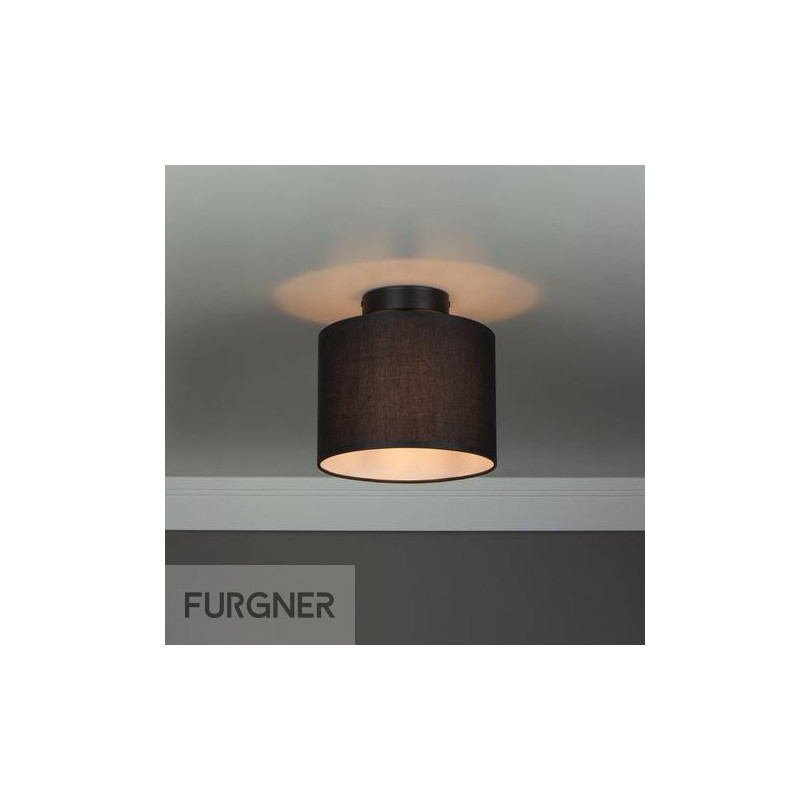 Sotto Luce Mika Elementary Xs Cp 1 C Ceiling Lamp Black
