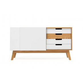 Woodman - Chaser Sideboard White