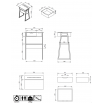 TEMAHOME - Space standing desk