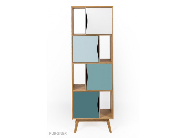 Woodman - Avon Narrow bookcase
