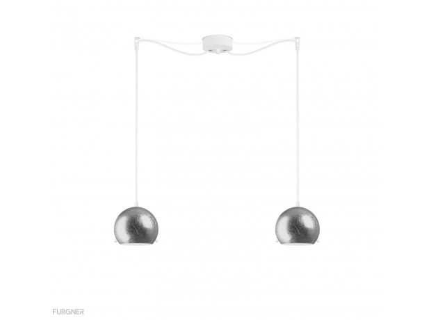 Sotto Luce - MYOO Elementary 2/S Pendant lamp Metal/White
