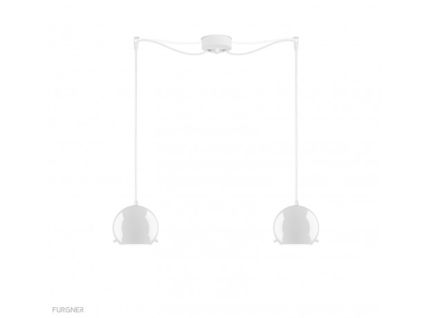 Sotto Luce - MYOO Elementary 1/S Pendant lamp White