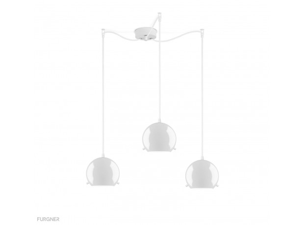 Sotto Luce - MYOO Elementary 3/S Pendant lamp White