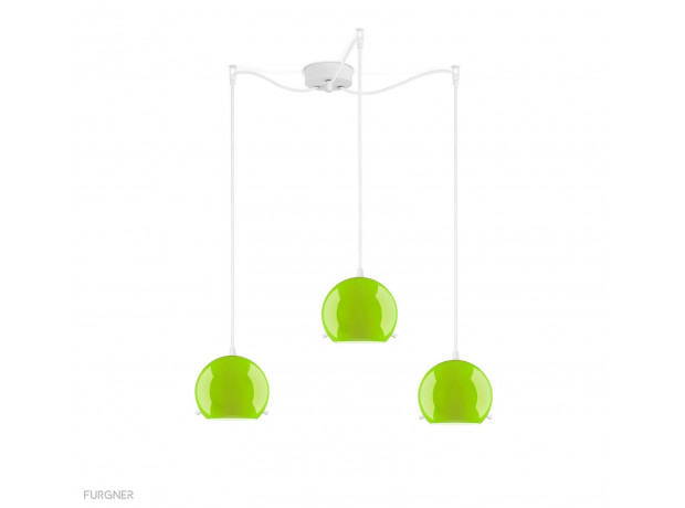 Sotto Luce - MYOO Elementary 3/S Pendant lamp colored
