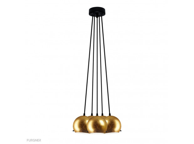 Sotto Luce - MYOO Elementary 5B/S Pendant lamp Metal/Black