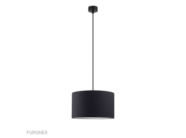 Sotto Luce - MIKA Elementary M 1/S Ceiling lamp black