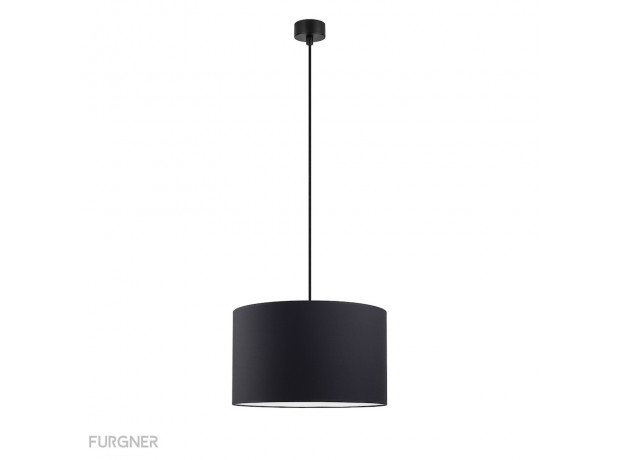 Sotto Luce - MIKA Elementary L 1/S Ceiling lamp black