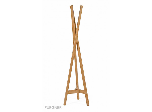 Woodman - Clift Coat Stand Oak