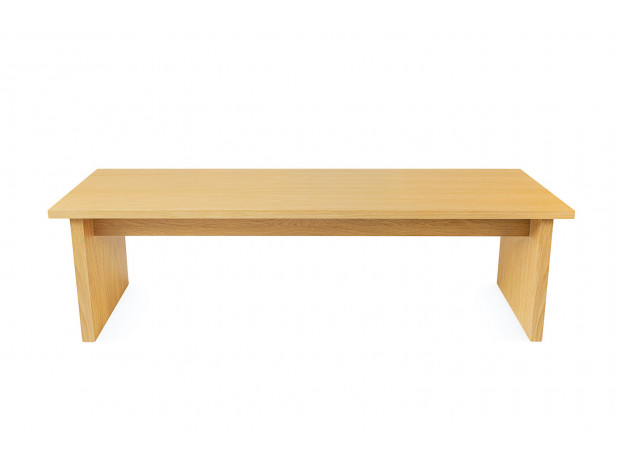 Woodman - Stripe bench