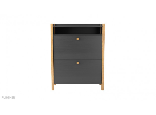 Woodman - Bode Shoe Cabinet 2 Door