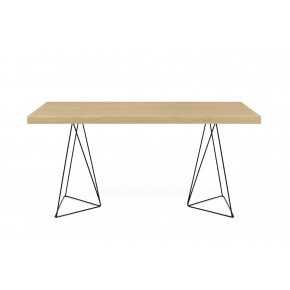 TemaHome - Multi Desk (black legs) 160