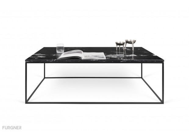 TemaHome - Gleam 120 Coffee Table Marble
