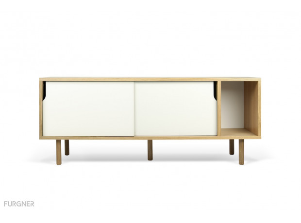 TemaHome - Dann sideboard 165 with Wooden Legs