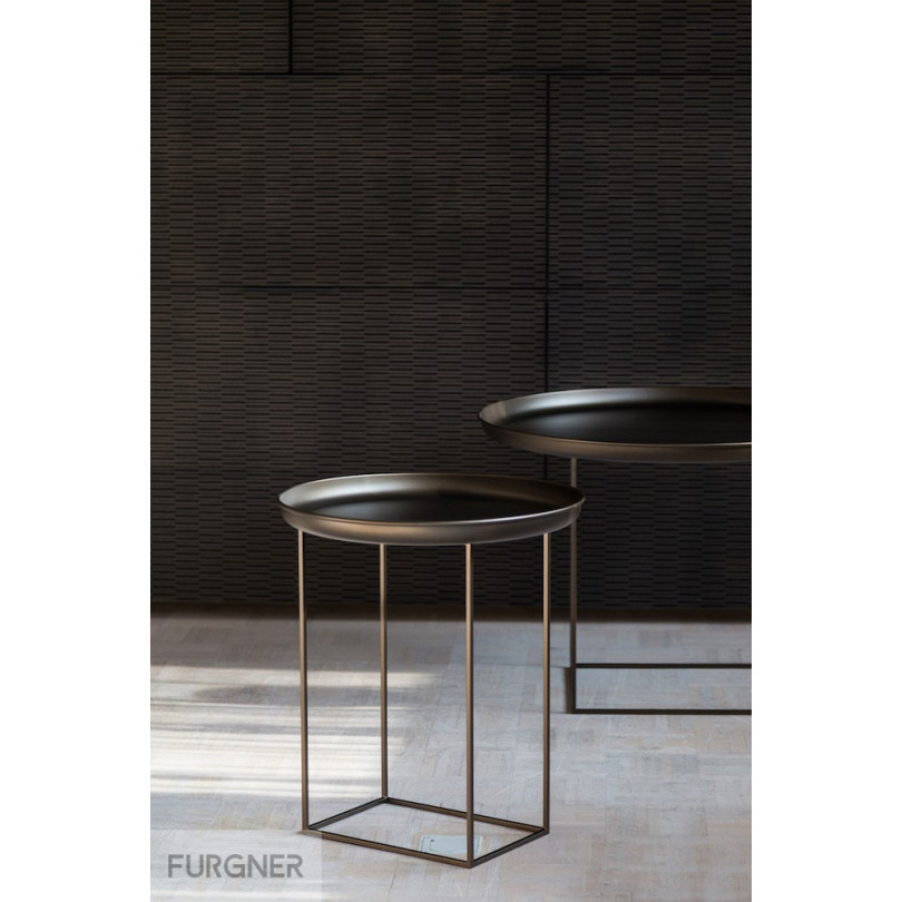 Norr11 Coffee Table Tray: Duke Side Table Small