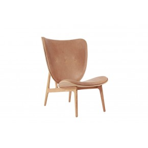 Norr11 - Elephant Chair Natural with Leather