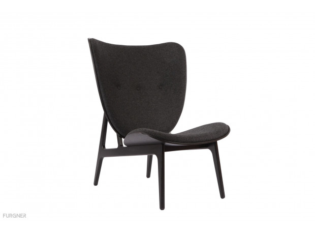 New Norr11   Elephant Chair Black With Wool