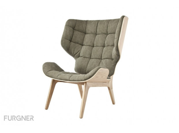 Bon Free Shipping New Norr11   Mammoth Chair Natural Canvas