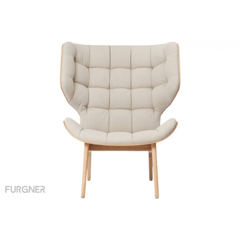 Norr11 Mammoth Chair Natural Canvas Furgner