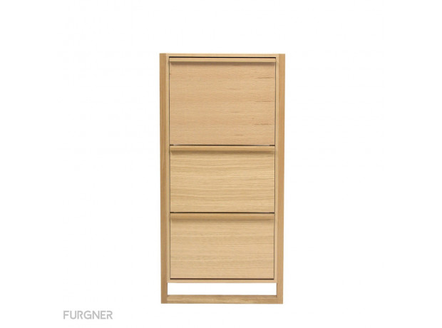Woodman - NewEst Shoe Cabinet 3 Door