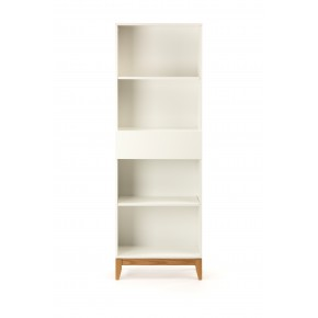 Woodman - Blanco Bookcase