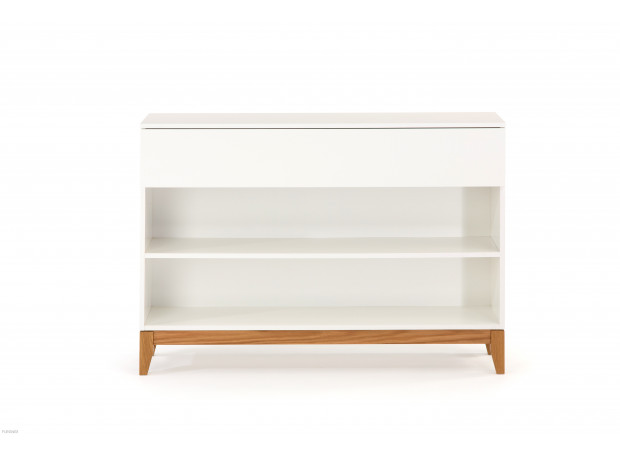 Woodman - Blanco Console Bookcase