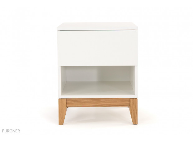 Woodman - Blanco Side Table