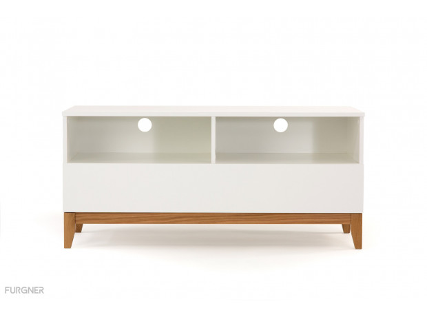 Woodman - Blanco TV-Unit