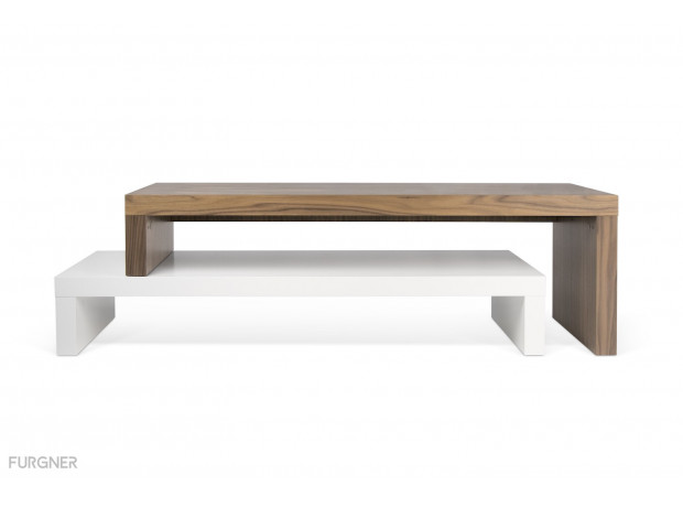 TemaHome - Cliff 120 Coffee Table (different colors)