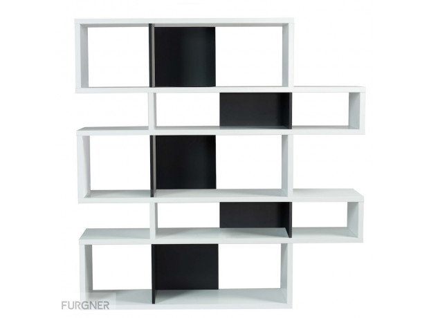 TemaHome - London 2 Shelf White
