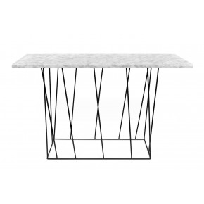 TemaHome - Helix Console Table Marble Black Feet