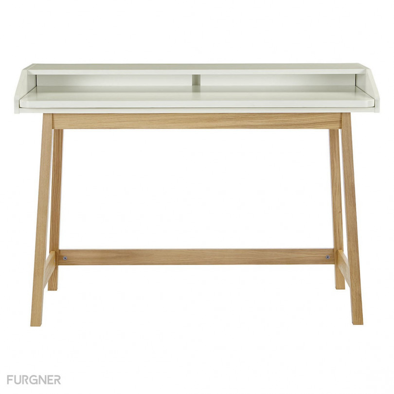 Woodman St James Compact Desk White