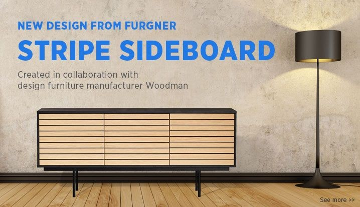 Stripe sideboard